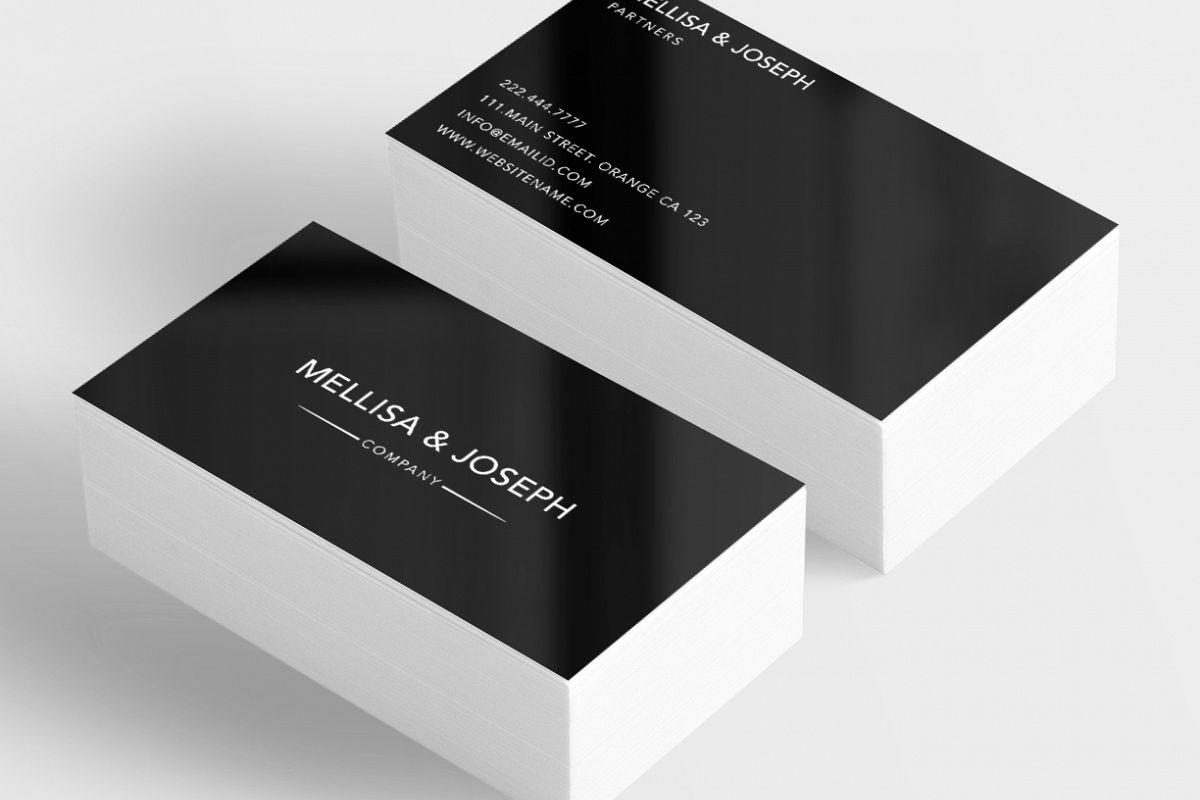 classy company business card example image 1 - Classy Business Cards