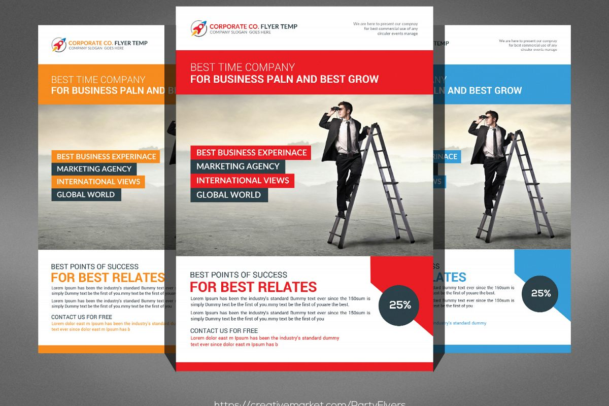 Company Flyer Psd example image 1