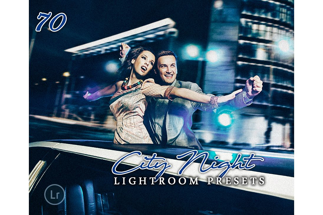 City Night Lightroom Presets example image 1