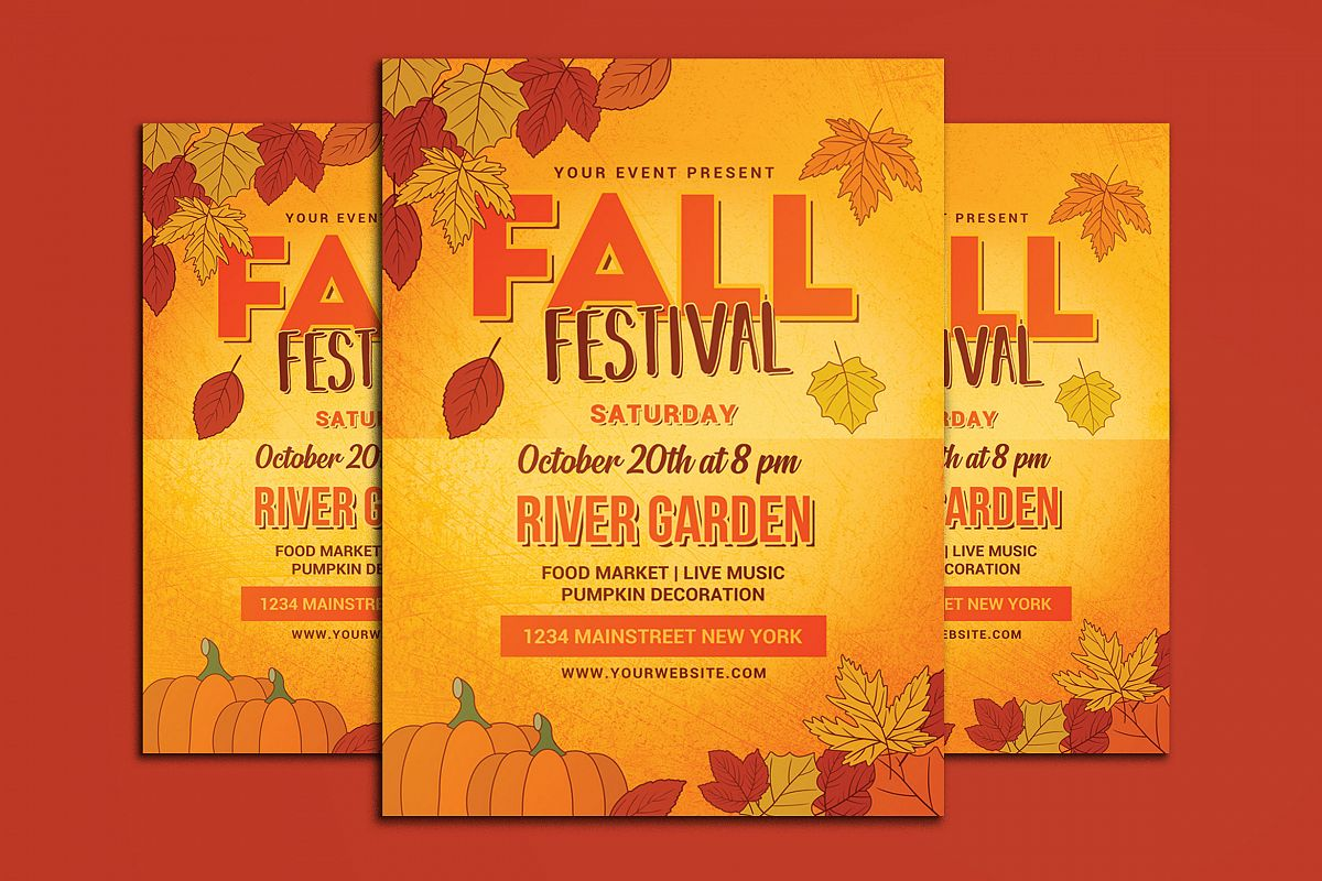 fall festival flyer example image 1
