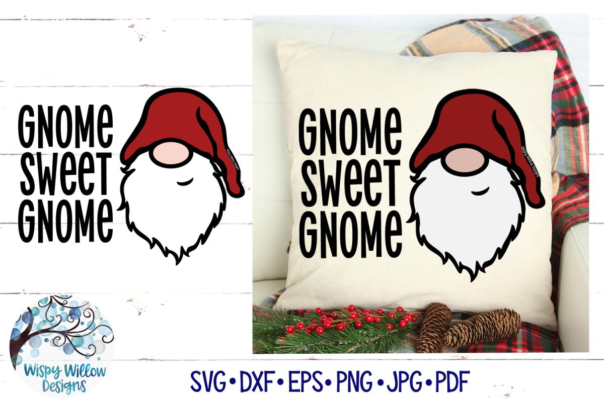 Gnome Sweet Gnome SVG | Gnome SVG File example image 1