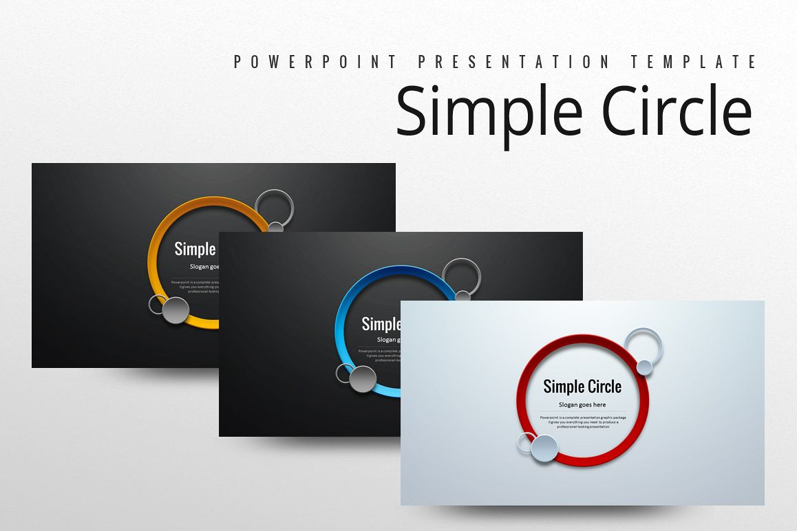 Circle PPT example image 1