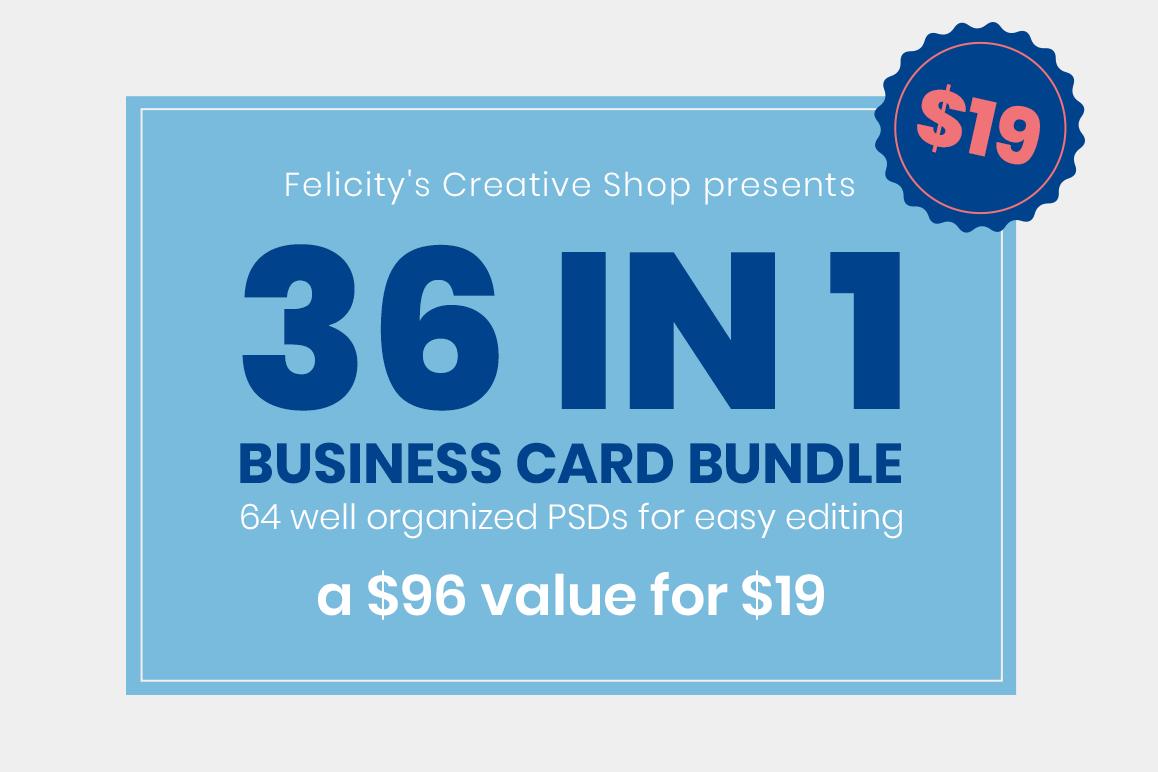 Business Card Bundle 02 example image 1