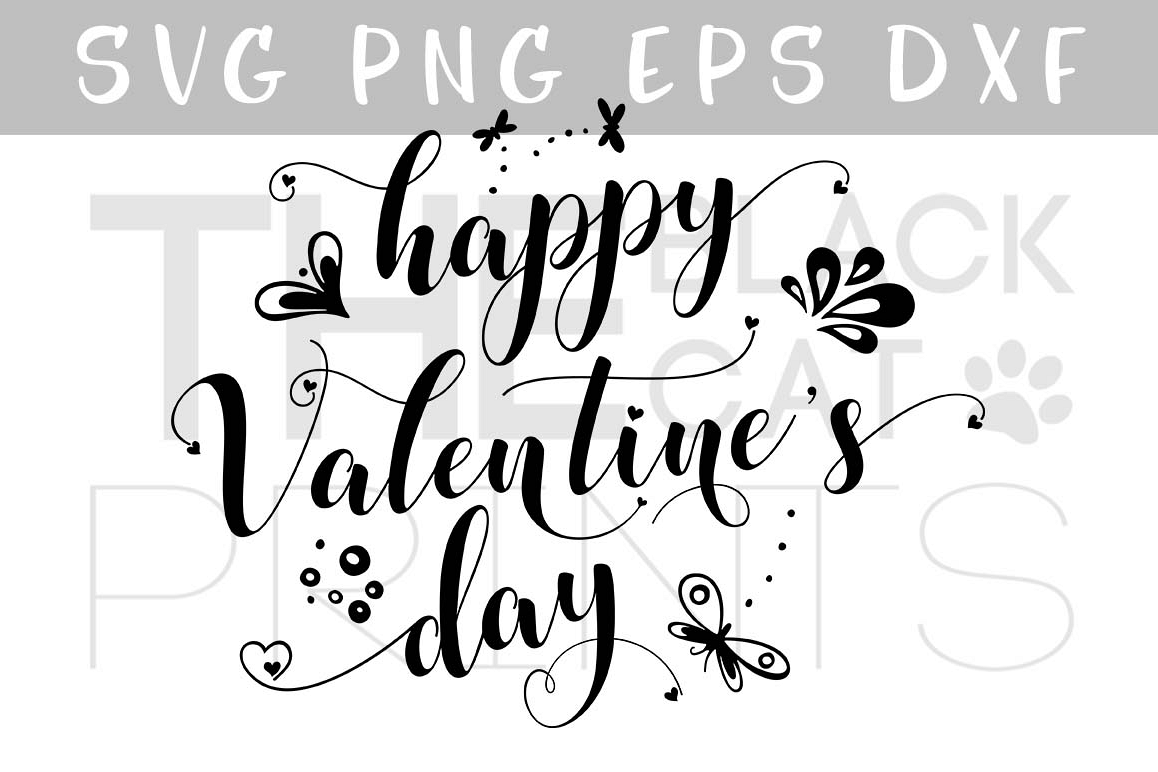 Happy Valentine S Day Svg Dxf Png Eps