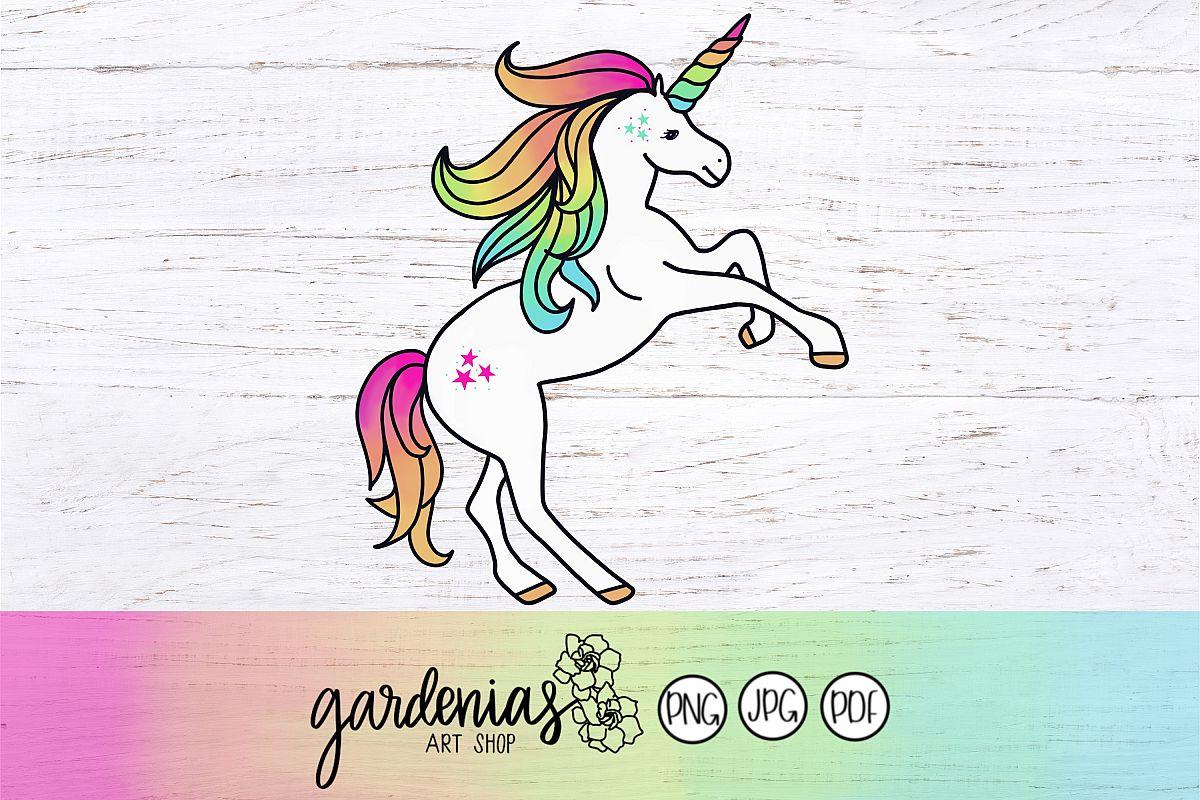 Unicorn Clip Art example image 1