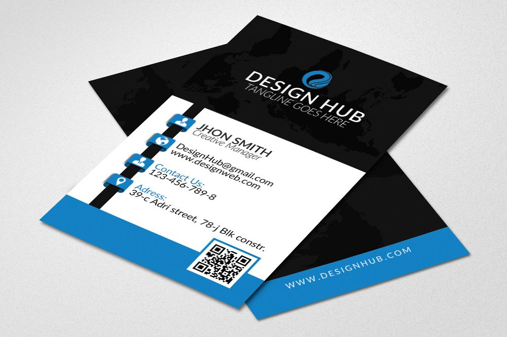 Vertical Business Card example image 1