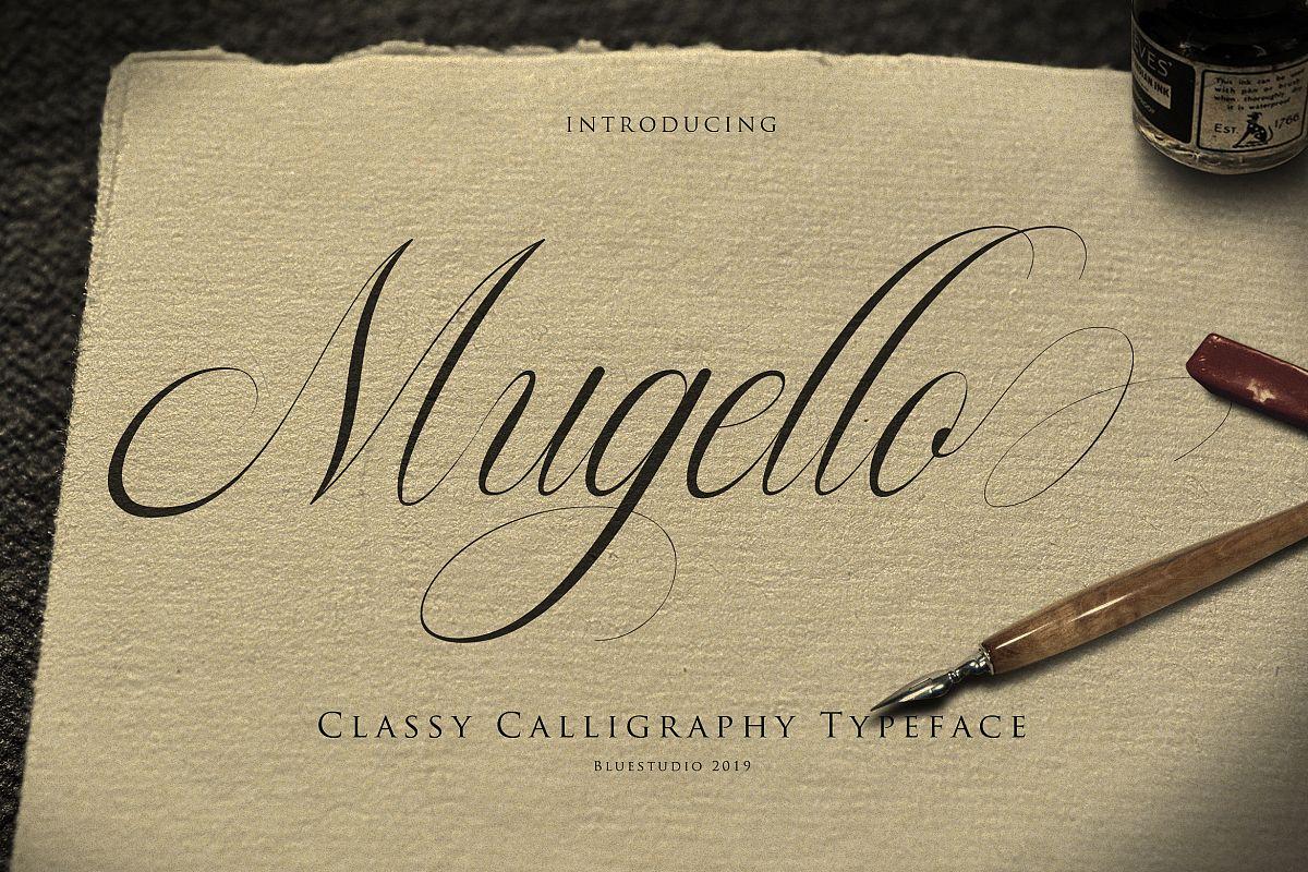 Mugello // Classy Calligraphy example image 1