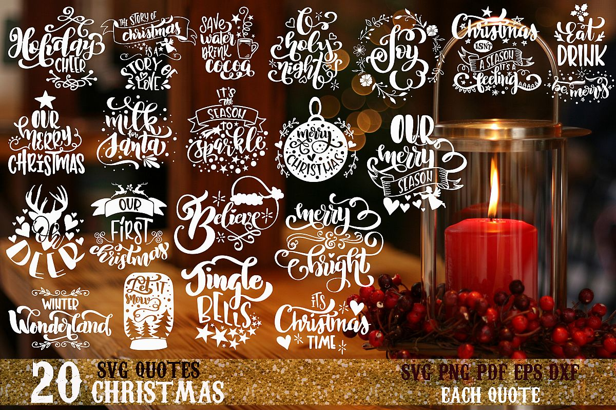 Christmas bundle svg Merry Christmas Winter svg vol 3 example image 1