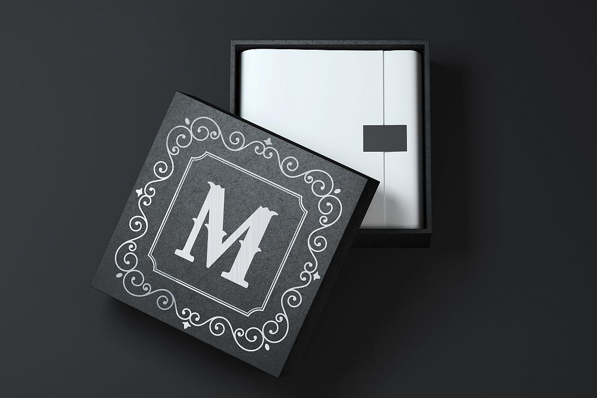 Square Box Mock up example image 1