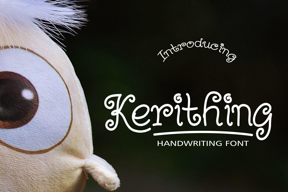 Kerithing Font example image 1
