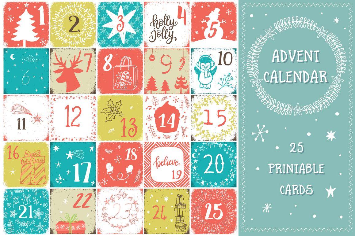 Christmas advent calendar example image 1