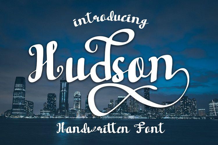 Hudson Handwritten font example image 1