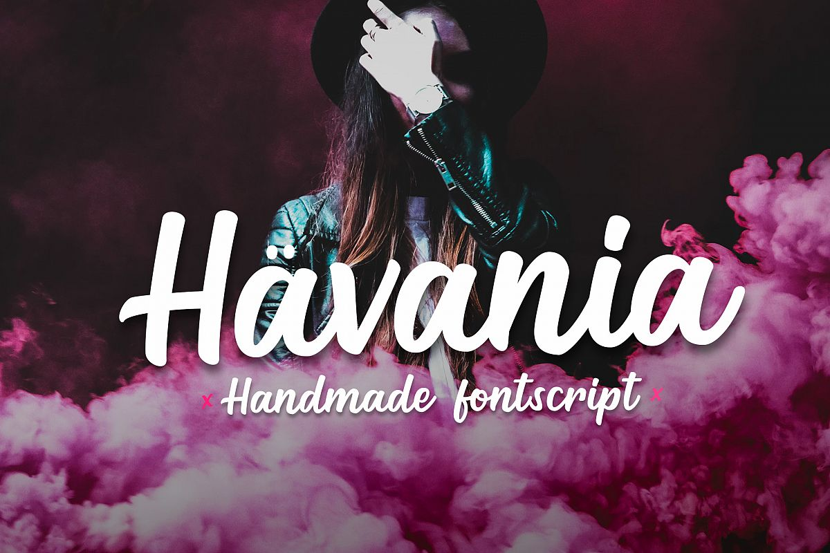Havania - Font Script example image 1