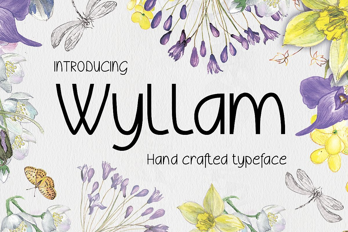 Wyllam Font example image 1