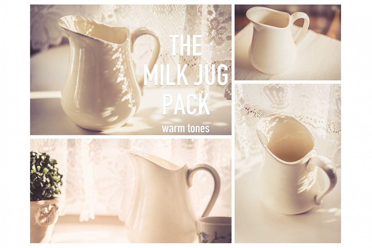 The MILK JUG Pack | warm example image 1
