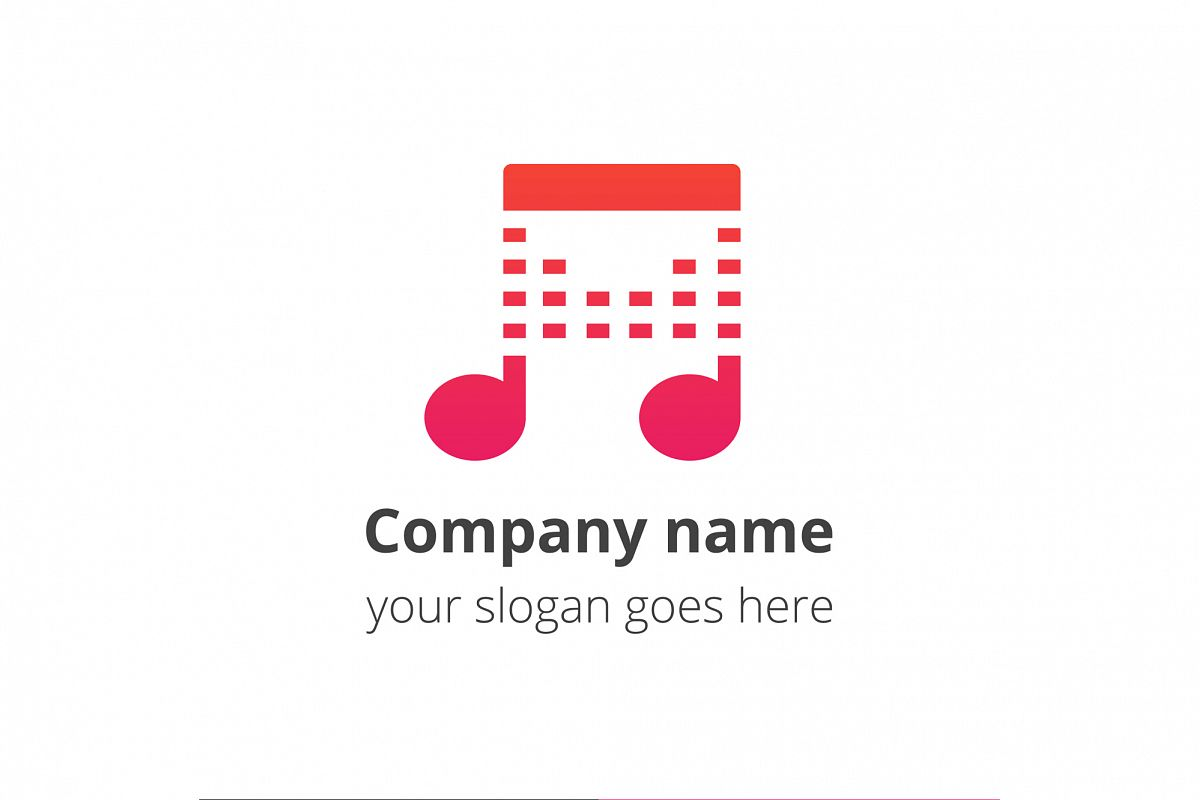 Play beats music logo example image 1