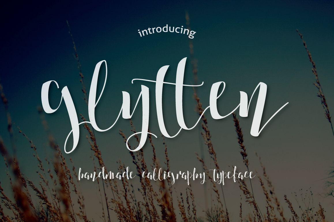 Glytten Typeface example image 1