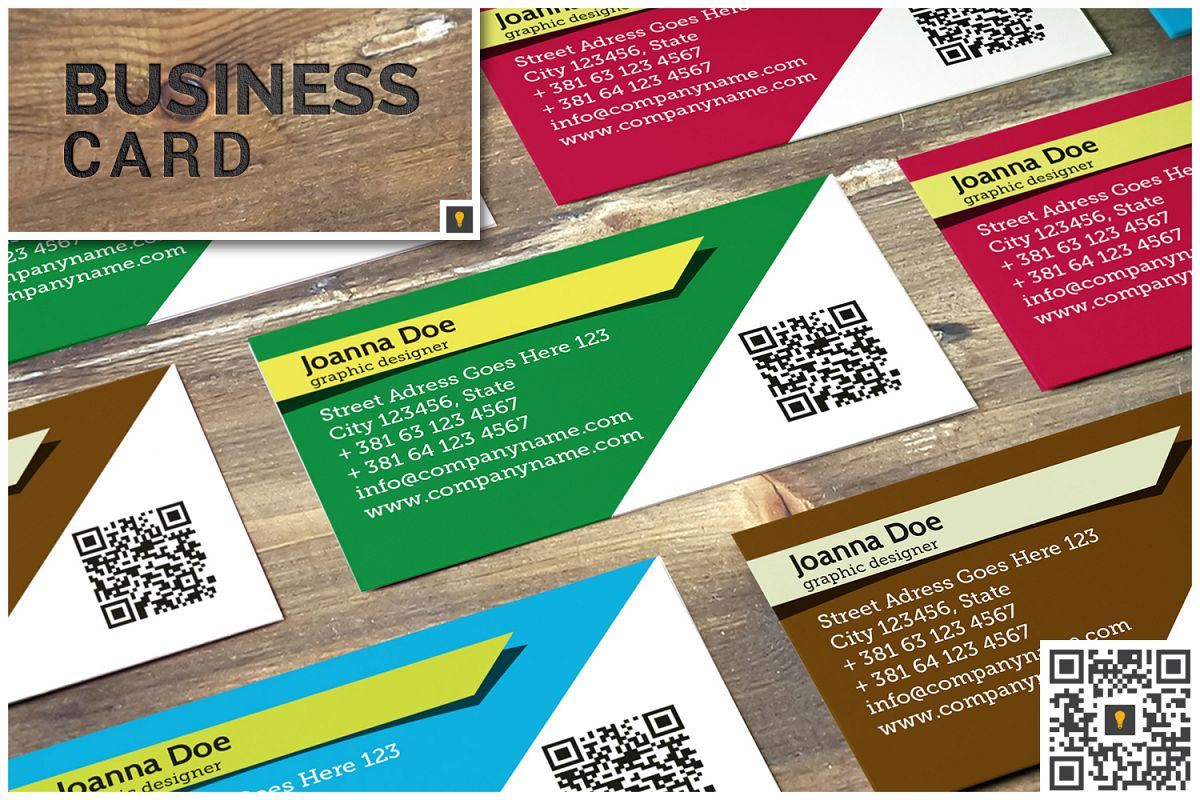 Stripe Modern Business Card