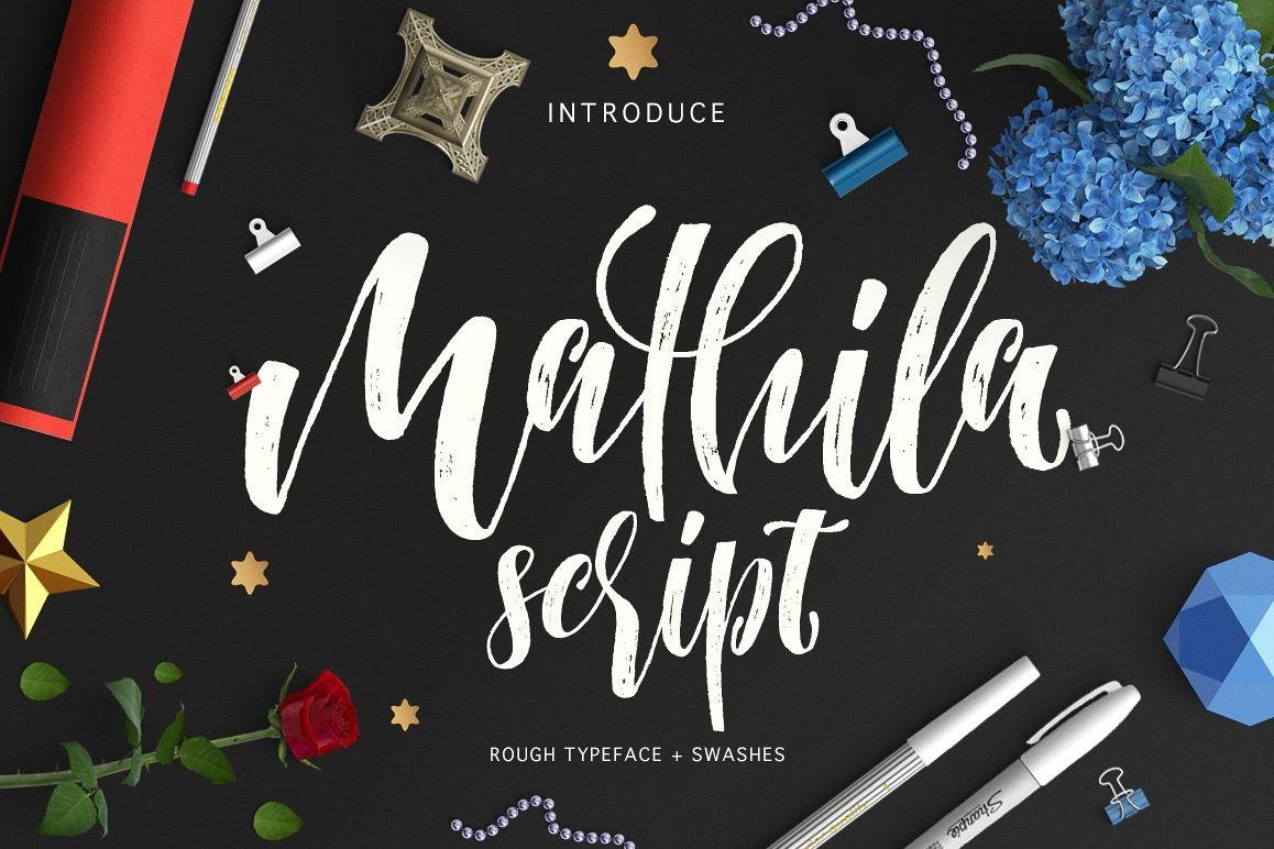 Mathila Script example image 1