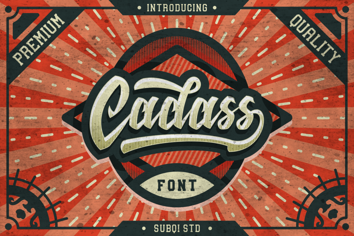 Cadass Font Duo 70% OFF example image 1