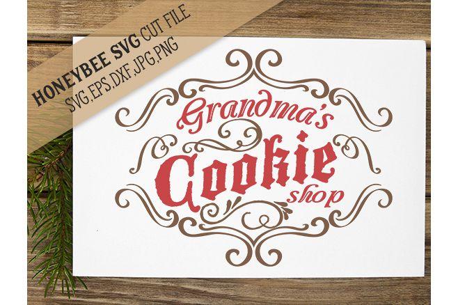 Grandma's Cookie Shop svg example image 1