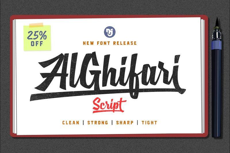 AlGhifari Script example image 1
