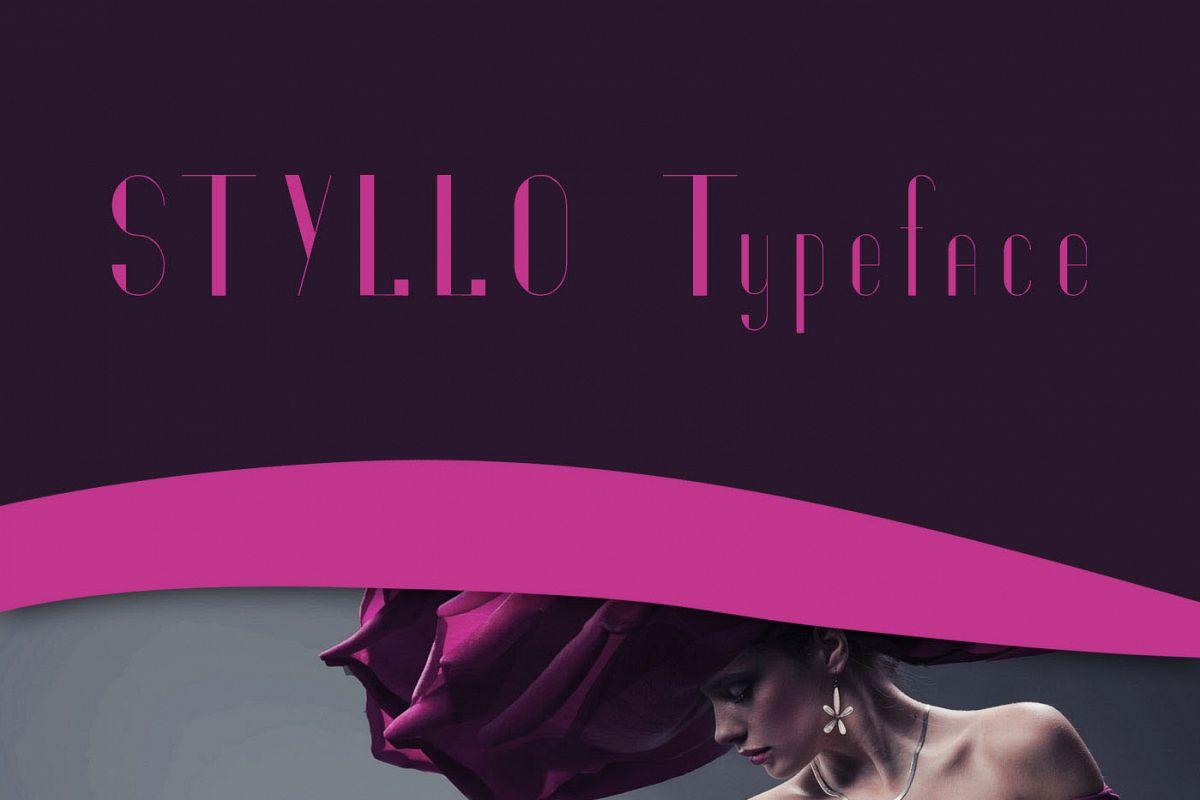 Styllo Display Typeface example image 1
