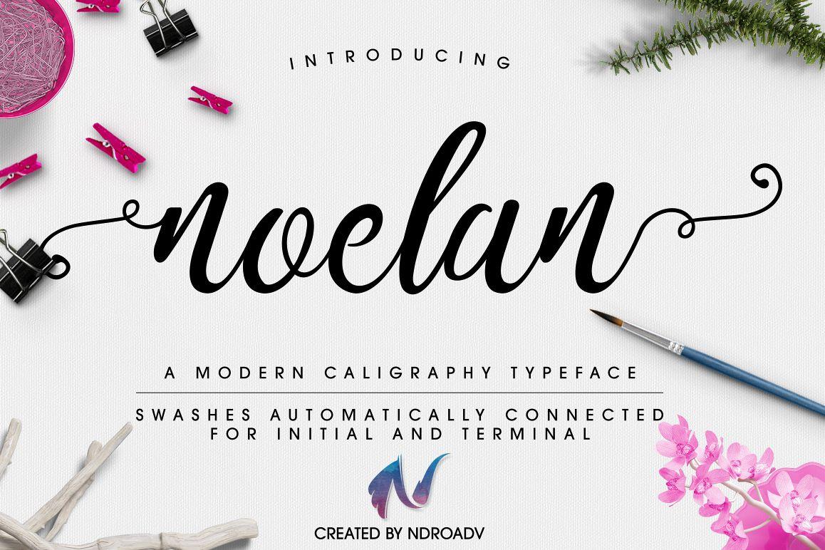 Noelan Script example image 1