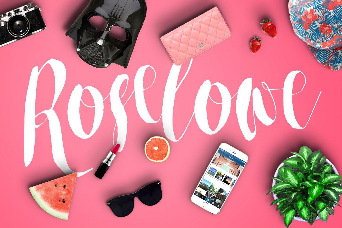 Roselowe Typeface example image 1
