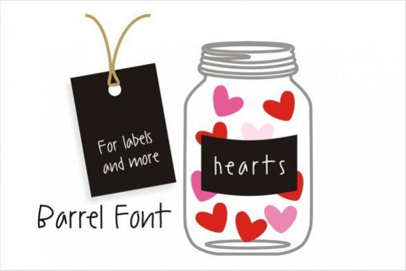 Barrel Font example image 1