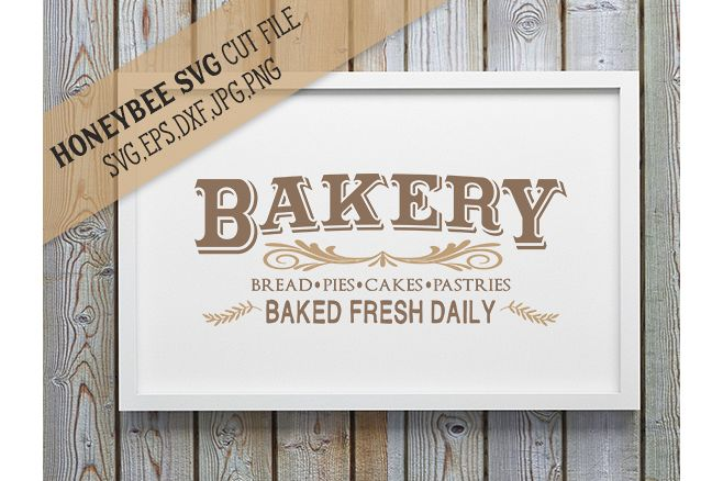 Bakery Country Sign SVG example image 1