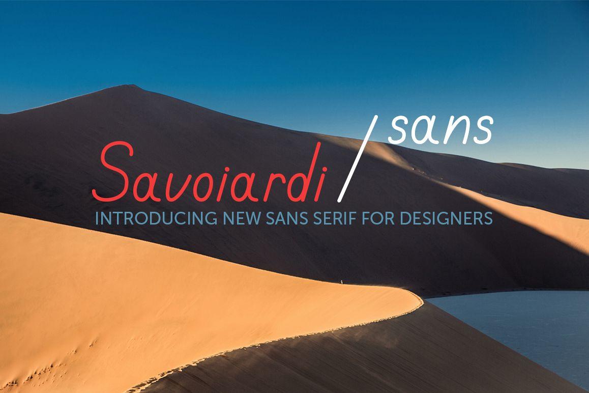 Savoiardi Sans example image 1