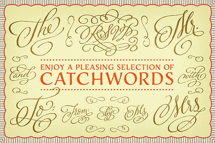 Adorn Catchwords example image 1