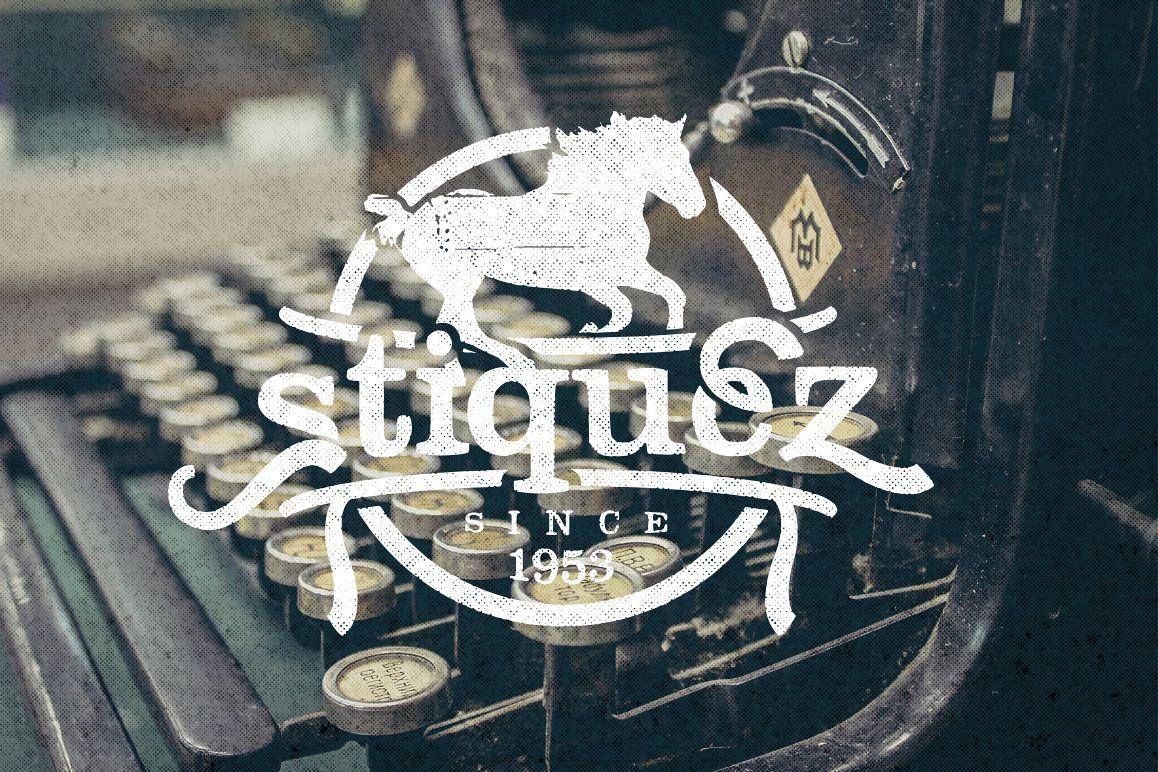 Stiquez Font example image 1