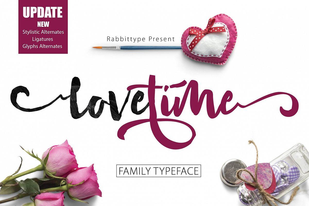 LOVETIME Script family example image 1