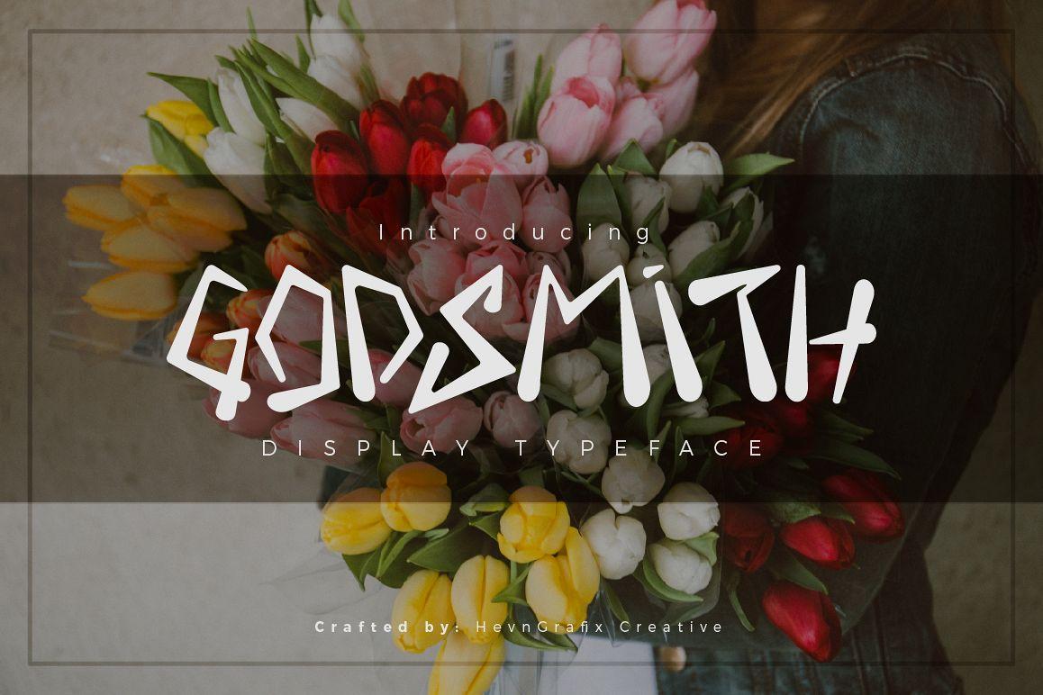 Godsmith Typeface example image 1