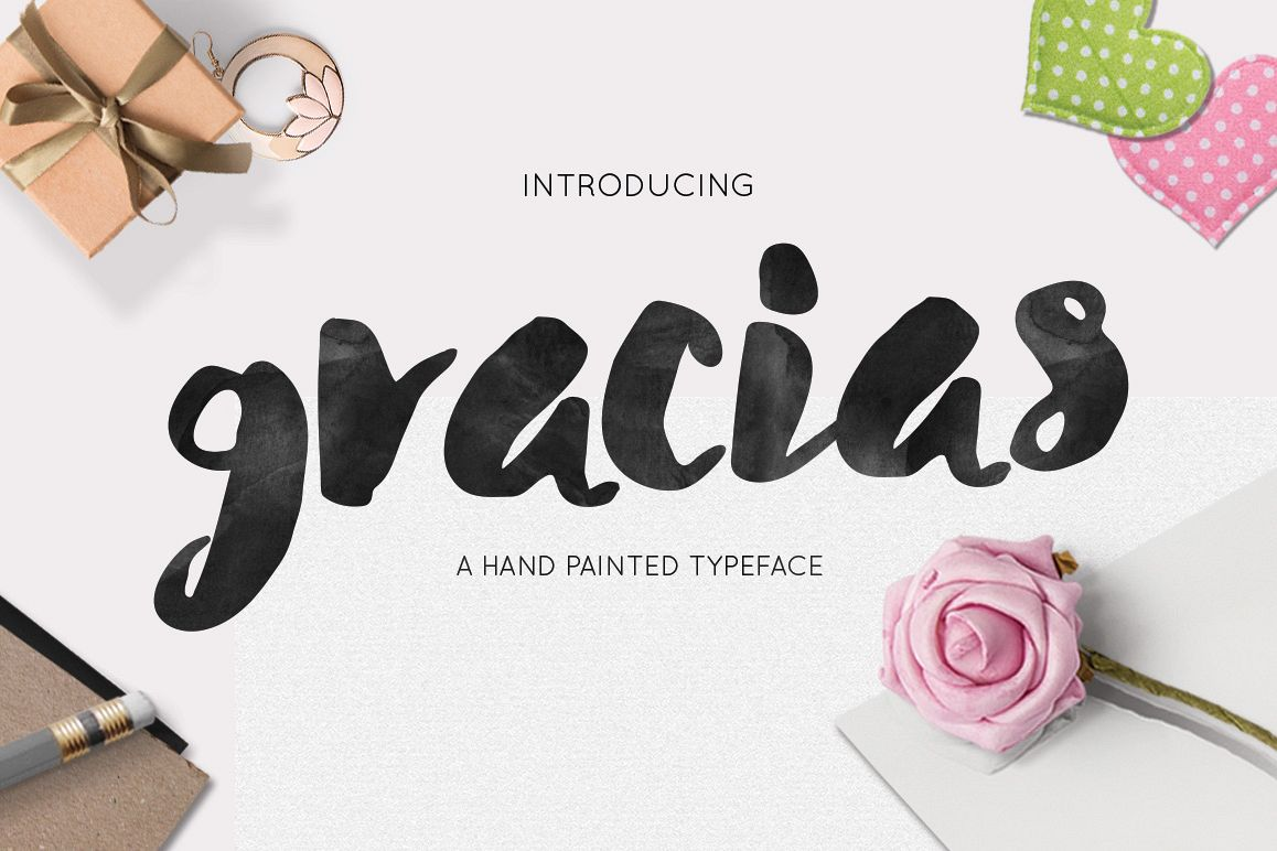 Gracias Typeface example image 1