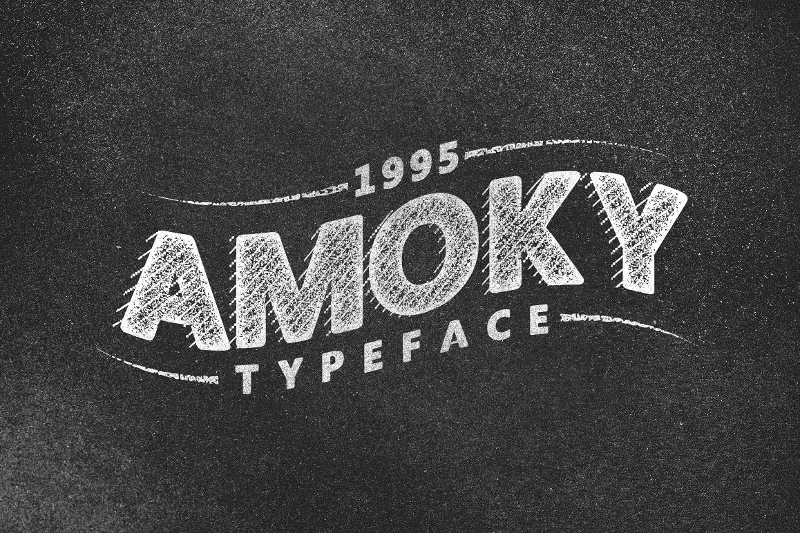 Amoky Typeface example image 1