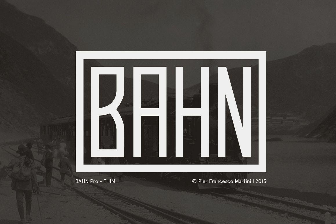BAHN Pro Thin example image 1