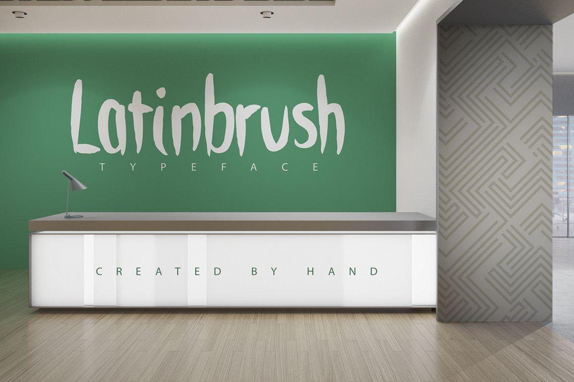 Latinbrush Typeface example image 1