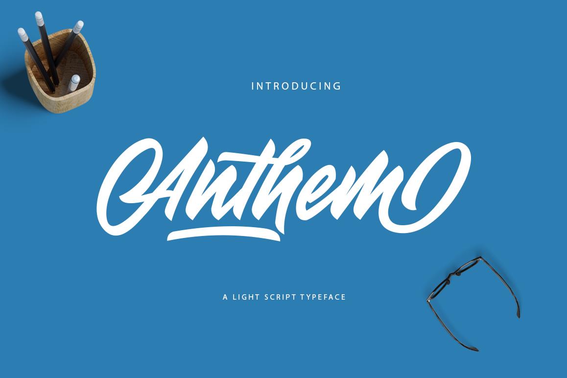 Anthem Typeface example image 1