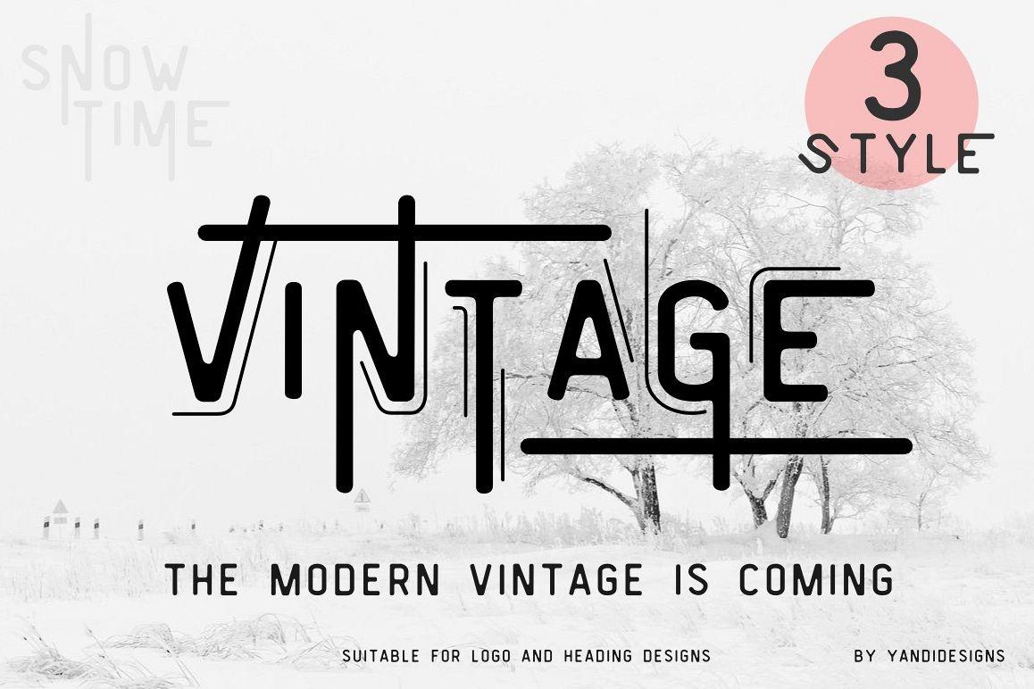 Vintage Modern example image 1