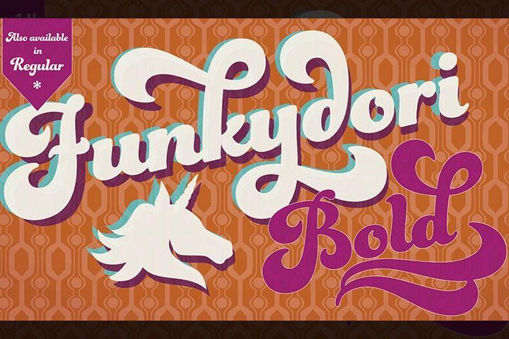 Funkydori Bold example image 1