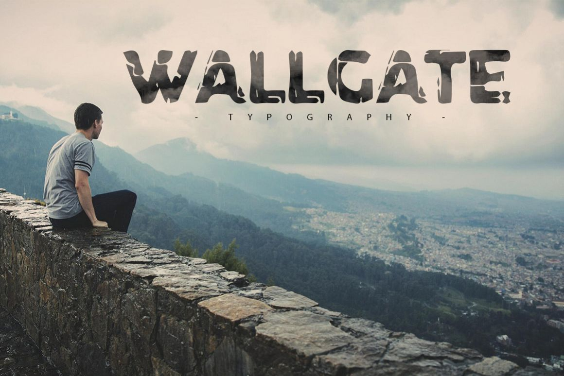 Wallgate Typography example image 1