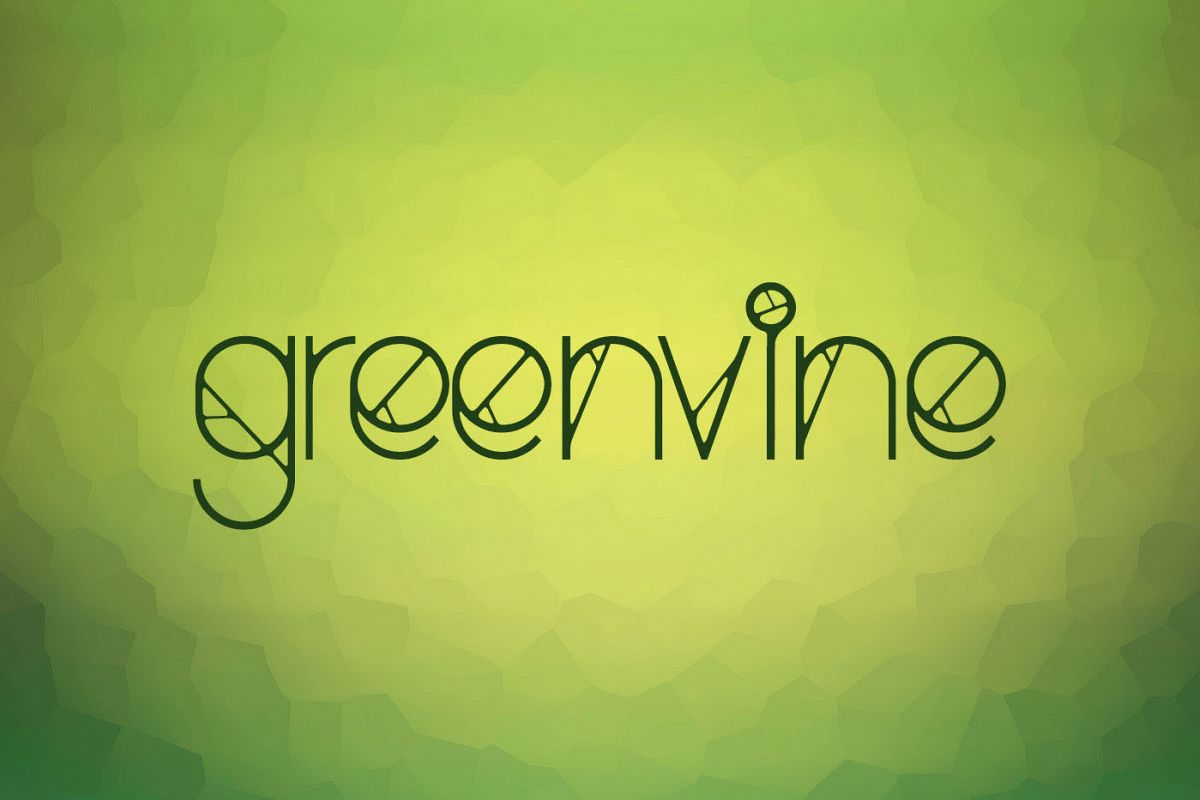 Greenvine Display Font example image 1