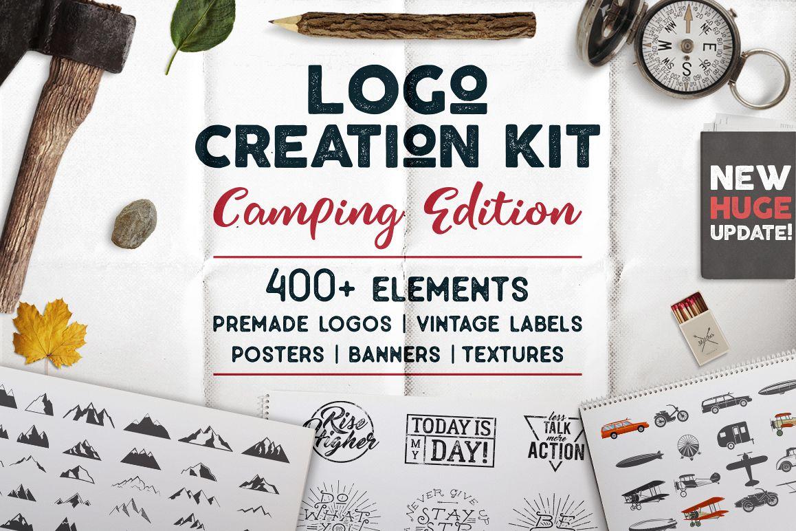 Logo Creation Kit - Camping Edition example image 1