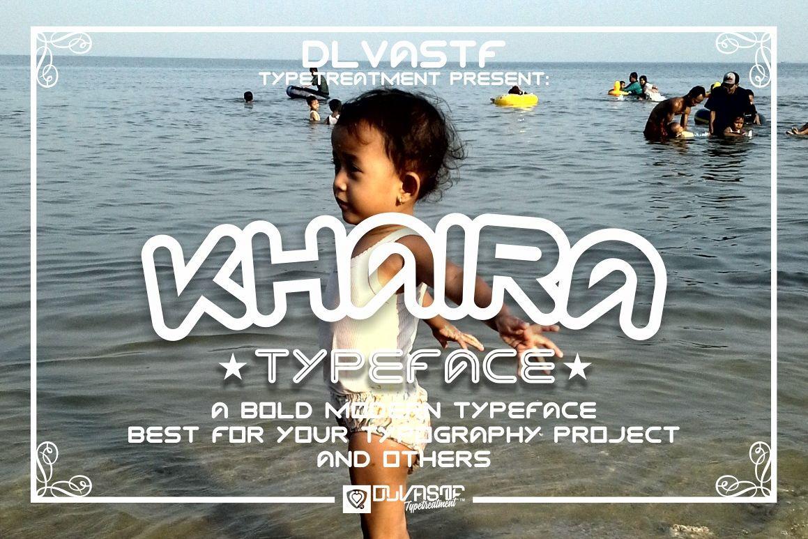 KHAIRA TYPEFACE example image 1
