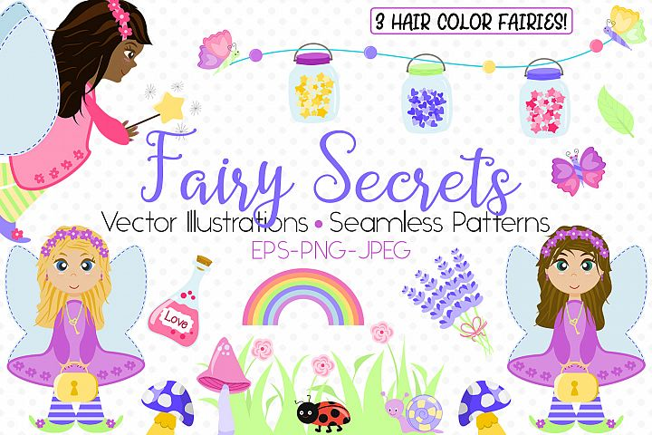 Fairy Secrets - Graphics and Patterns example