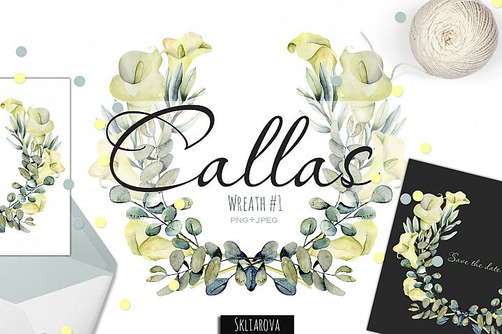 Callas. Wreath #1