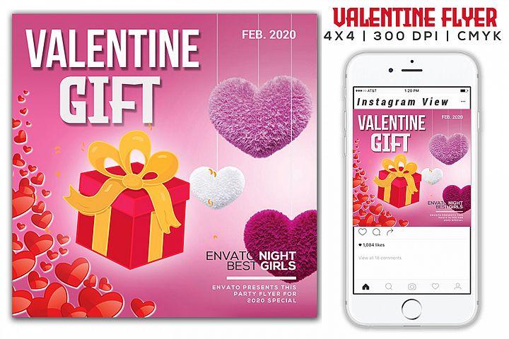 Valentine Gift Flyer